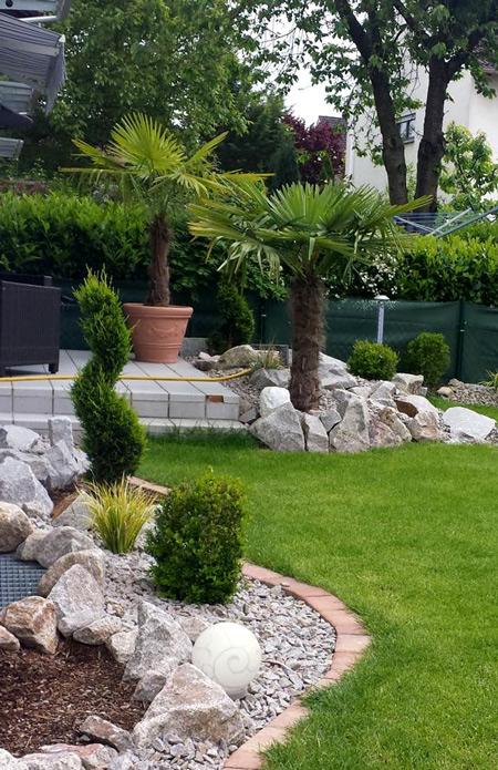 stein&natur gartengestaltung karlsruhe - palmenverleih, Garten ideen