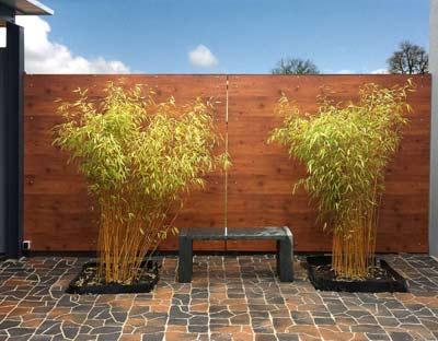 stein&natur gartengestaltung karlsruhe - zäune & sichtschutz, Garten ideen